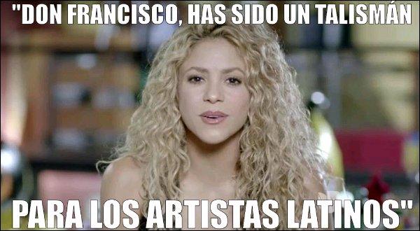 19 Septembre 2015 : Shakira n'ayant pas été présente à l'émission Sábado Gigante, La belle colombienne a à la place laissé un message vidéo pour l'émission que vous pouvez visionner ci-dessous.