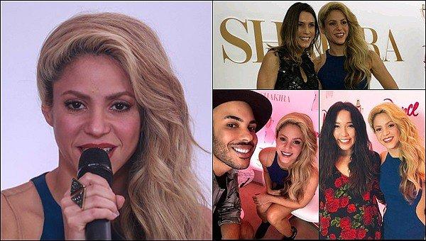 6 décembre 2016 : Shakira était au lancement de son nouveau parfum DANCE à Sao Paulo au Brésil S. était incroyablement belle dans sa robe bleu ! J'aime beaucoup la partie couleur chaire, un grand TOP pour ma part, vos avis ?