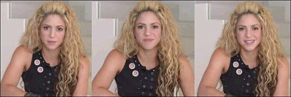 18 Septembre 2016, Shakira a posté une nouvelle vidéo sur les réseaux sociaux pour promouvoir le mouvement #LearningGeneration afin que tous les enfants du monde puissent avoir accès à l'école.