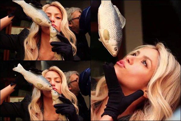 Voici le Behind The Scene du tournage de la publicité pour Costa Croisière 2017 Shakira est mignonne avec son poisson :p elle est toujours aussi souriante et radieuse. Comment trouvez-vous cette vidéo de la belle ?