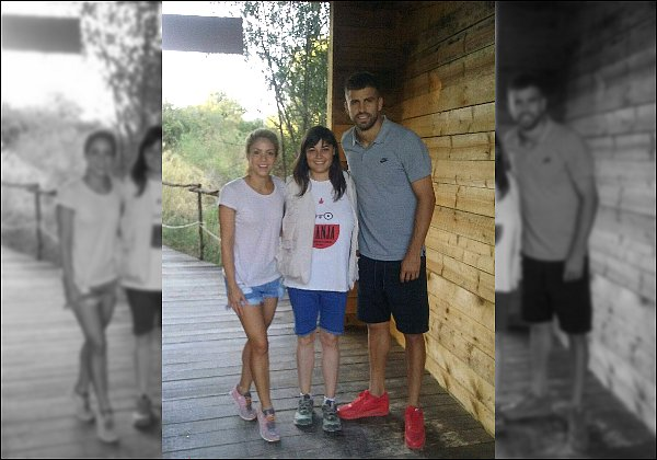 """17 août 2016 : Shakira a posté une nouvelle photo sur son compte Twitter lorsqu'elle était en studio Légende du Tweet : """"En studio avec Stephen, Supa et Dave ainsi que Luisfer Ochoa dont s'est l'anniversaire ! Shak"""""""