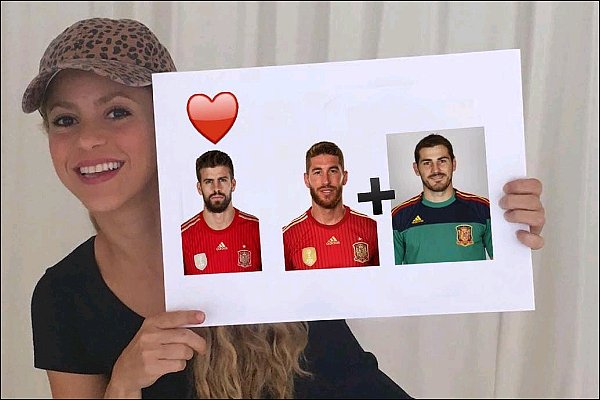 27 Octobre 2016 : Shakira a posté une nouvelle photo sur les réseaux sociaux Encore un jeu ! La colombienne adore faire deviner les choses, le gagnant remportera l'art work de son nouveau single