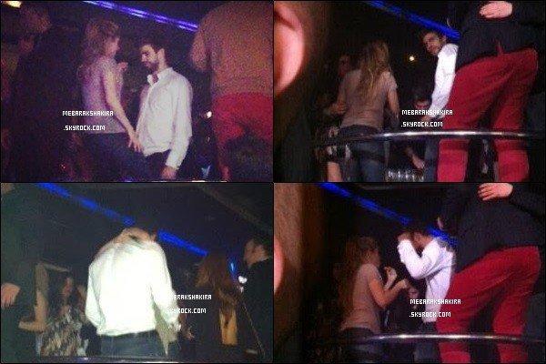 31 décembre 2013 : Shakira et Gerard Piqué sont allés faire quelques courses dans Barcelone + Shakira a pris une photo avec un fan. J'aime beaucoup son pull gris et blanc, en revanche sa casquette n'est pas extra :/