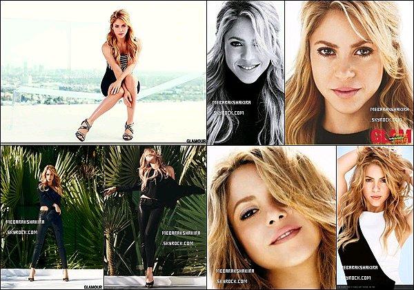 Notre colombienne préféré fait la couverture du mois de février2014 du célèbremagazinede modeGLAMOUR aux Etats-Unis