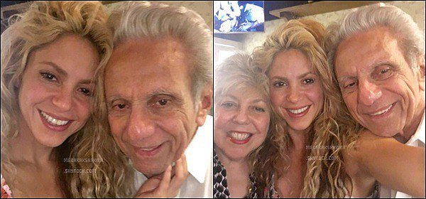 """6 Septembre 2016 : Shakira a posté une nouvelle photo d'elle lorsqu'elle travaillait en studio Légende de son poste, """"Ecoutons ça encore une fois...Shak"""". Mlle Mebarak est adorable, elle a l'air très concentré dans ce qu'elle fait !"""