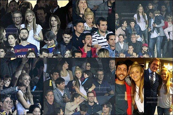 22 mai 2016 : Shakira de retour en Espagne, a assisté au match de la coupe d'Espagne à Madrid Elle était superbe, j'aime assez son petit chignon. La jolie blonde a retrouvé ses deux adorables fils. Ils sont trop mignons !