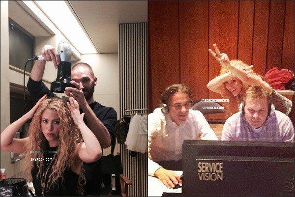 """13 mars 2014 : Shakira a posté une nouvelle photo sur son compteTwitter """"Bad hair day"""" Même si la ravissante colombienne traverse une mauvaise journée pour ses cheveux, ils restent magnifiques pour autant !"""