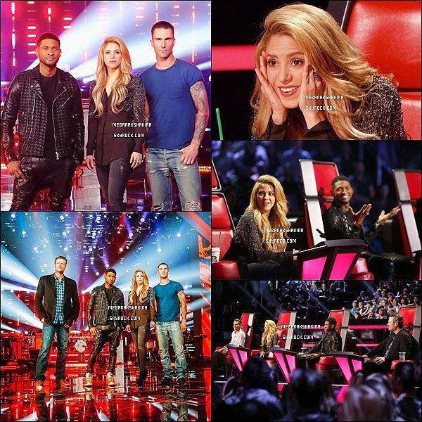 Nouvelles photos de Shakira pour la saison 6 de The Voice USA