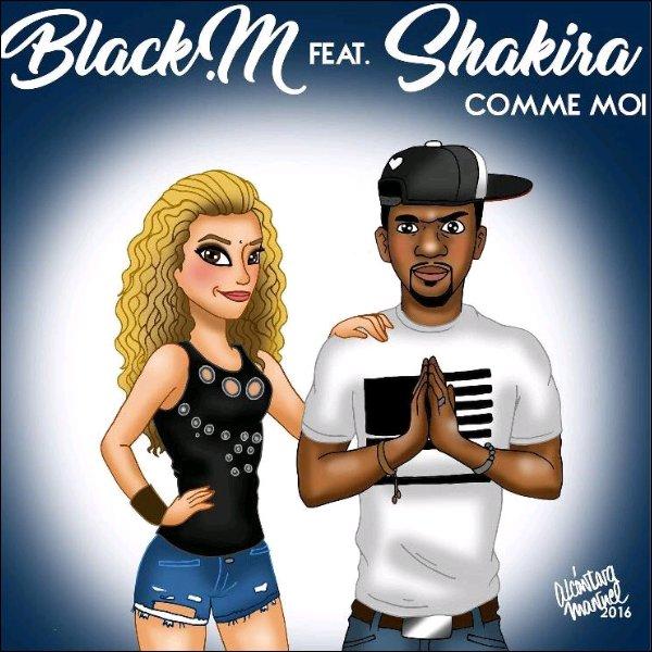 Découvrez le nouveau single de Shakira et Black M COMME MOI Que pensez-vous de ce titre ? Pour ma part j'aime assez les paroles & je trouve la voix de Shakira juste sublime *__*