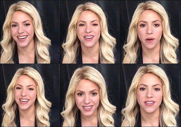 30 Novembre 2016 : Shakira a posté une vidéo à propos de sa fondation Pies Descalzos de Baranquilla Pour annoncé que la fondation Pies Descalzos de Baranquilla était classé Première sur la liste des meilleurs écoles publiques de Colombie.