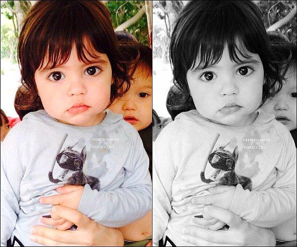 28 avril 2014 : Shakira a posté une nouvelle photo sur les réseaux sociaux de son adorable fils ♥