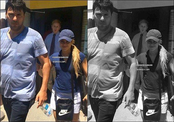 6 juin 2014 : Shakira & son frère Tonino dans les rues de la capitale américaine, Washington DC