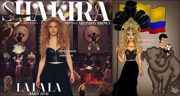 Découvrez le making-of du clip vidéo de La La La (Brazil 2014)