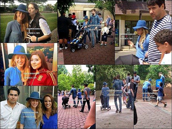 5 juin 2014 : sortie en famille au Zoo de Washington DC, où quelques fans ont pu faire une photo avec S.