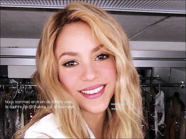 23 juin 2014 : T-Mobile a posté une sublime photo de Shakira sur Twitter. Nous aussi on fond en la voyant !