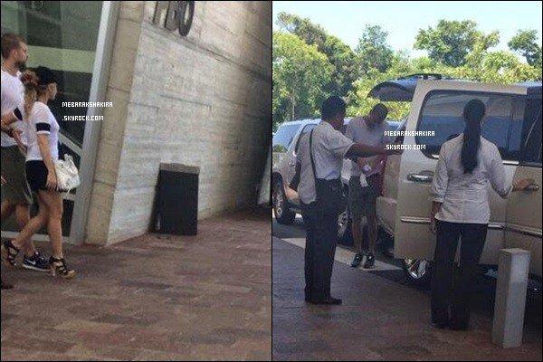 1er Juillet2014 : S & G s'accordent un peu de répit en allant passé quelques jours de vacances à Cancun