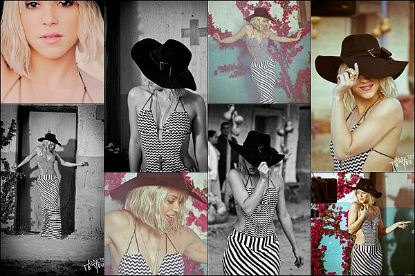 """2 MAI 2012 ▬Sortie du nouveau clip de la sublime colombienne """"Addicted To You"""" Shakira est divine dans ce clip, j'adore sa longue robe avec son chapeau, elle danse toujours aussi bien, de plus ses tenues sont au TOP !"""