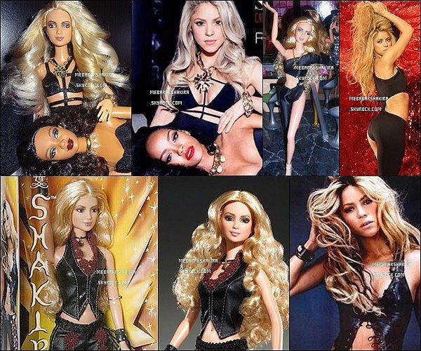 Shakira une vraie poupée ? Voici quelquess poupée à l'effigie de la superbe colombienne