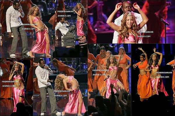 31 août 2006 : Shakira était au MTV Video Music Awards au Radio City Music Hall à New York