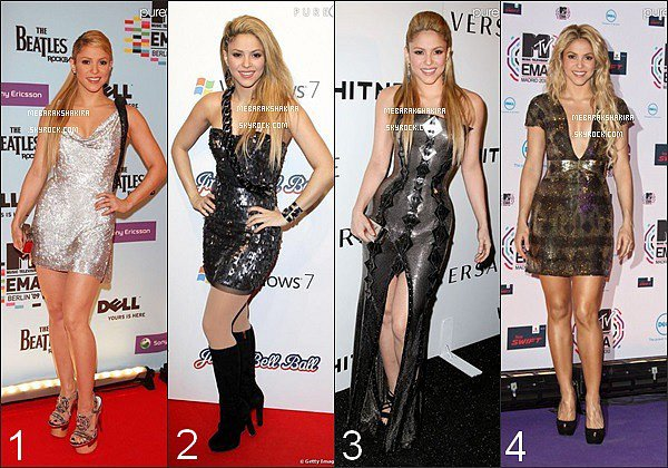 Parmi ces 4 robes grises argentées, laquelle préférez-vous ?