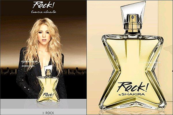 Découvrez le nouveau parfum de la sublime colombienne : Rock ! by Shakira