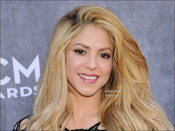 """La jolie Shakira Mebarak est entrée dans leGuinness World Records (livre des records) pour avoirété la première personne à dépasser les 100 millions de """"J'aime"""" sur Facebook !"""