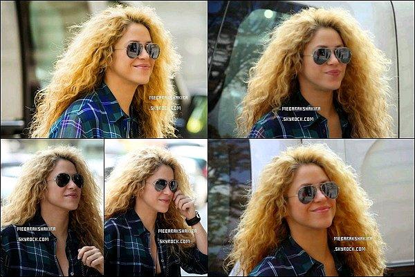 30 septembre 2014 : Shakira est allée visité le musée du Louvre à Paris