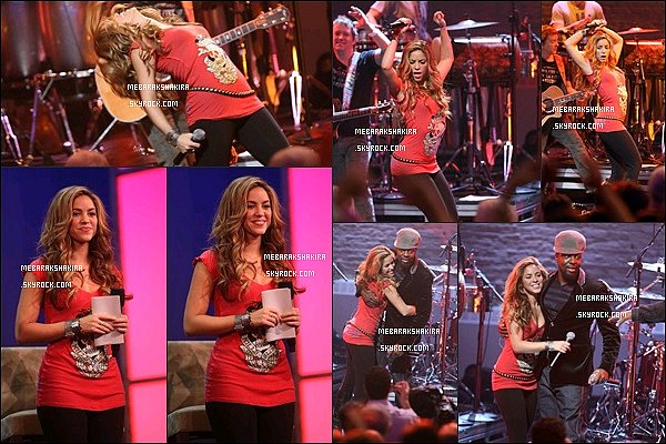 29 septembre 2007 : Shakira au MTV and the Clinton Global Initiative à l'Apollo Theater