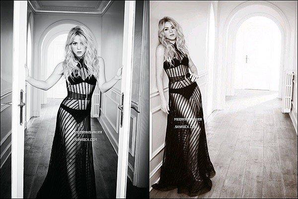 Nouvelles photos de Shakira issues du photoshoot pour l'album SHAKIRA. Elle est vraiment SU-BLIME ! J'aime énormément sa robe transparente, qui laisse apparaître son corps parfait ♥