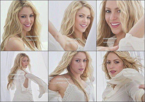 Nouvelle vidéo de Shakira pour Oral-B Crest 3D White, elle est magnifique !
