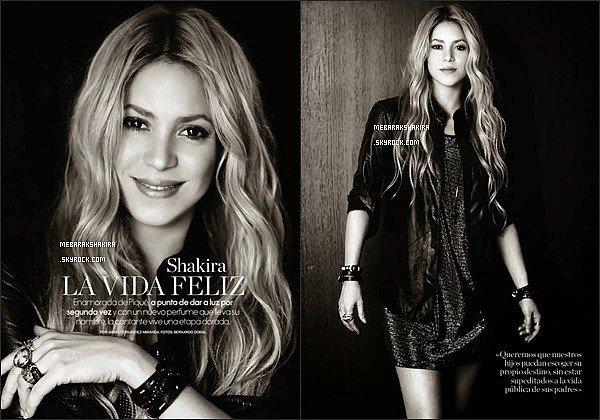 Shakira est dans la version espagnole du célèbre magazine ELLE. S. est tout juste sublime !