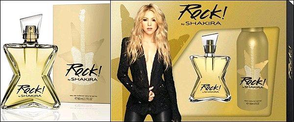 Découvrez une nouvelle photo de Shakira pour son parfum Rock by Shakira