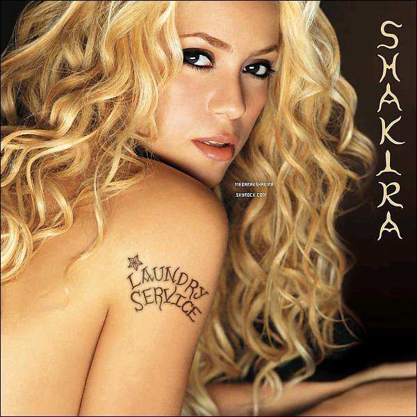 13 novembre 2014 : Shakira a posté sur Twitter la pochette de son premier album à l'international : Laundry Service qui a déjà 13 ans ! Cette album est une merveille, entre Whenever, Objection Tango, Underneath your clothes.. ♥