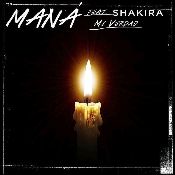 Voici la pochette du single Eres Mi Verdad de Mana & Shakira