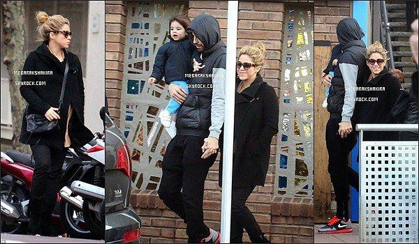 9 décembre 2014 : Shakira et Gérard faisant les magasins dans Barcelone
