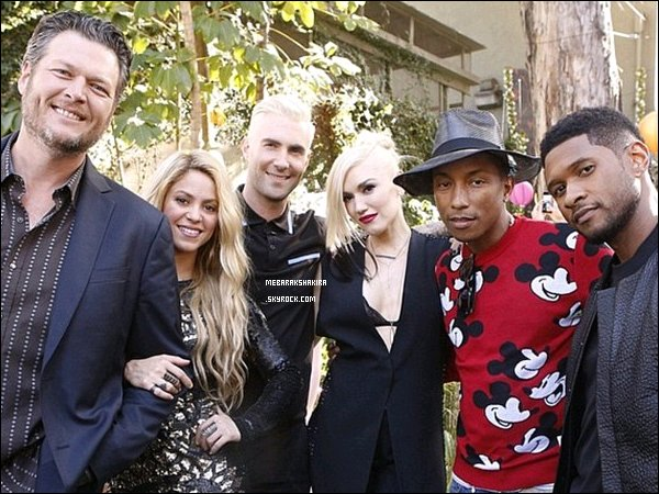 Shakira & la merveilleuse Gwen Stefani ont enregistré une chansons intitulée«Confection».