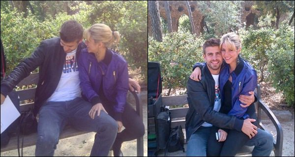 16 mai 2012 : Shakira et Gerard ont été pris en photo au Parque Guell à Barcelone Ils sont adorable tous les deux, j'aime bien les voir en toute simplicité, ces photos son tout simplement au TOP !