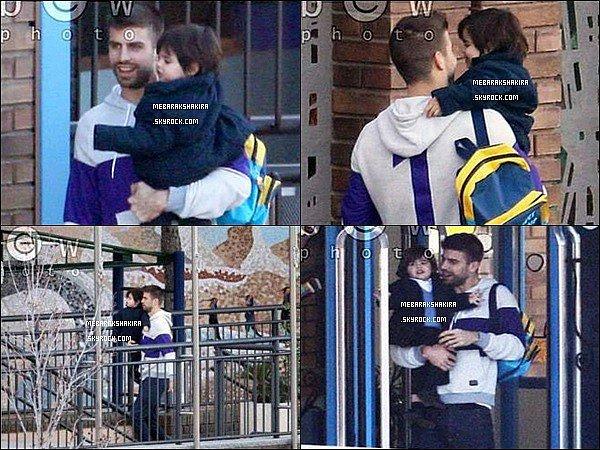 21 Janvier 2015 : Gerard & Milan dans Barcelone, ils sont tellement adorables *_*