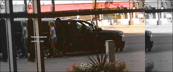 16 Septembre 2015 : Shakira arrivant à Minneaoplis dans l'état du Minnesota aux Etats-Unis