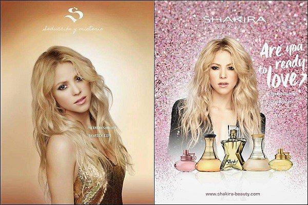 Deux nouvelles photos promouvant les parfums S by Shakira pour la Saint Valentin