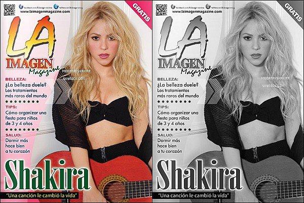 Shakira est en couverture du magazine LA Imagen en Californie