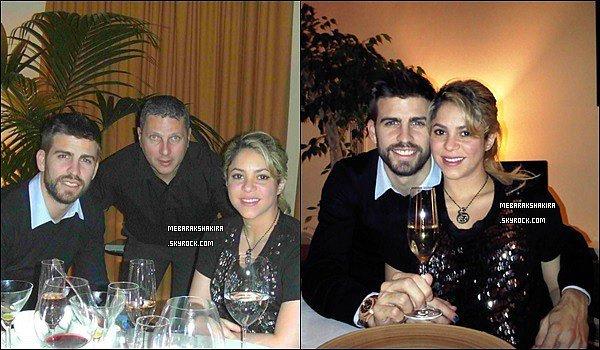 31 décembre 2012 : Shakira & Gerard ont passé le réveillon du jour de l'an dans les Pyrénées