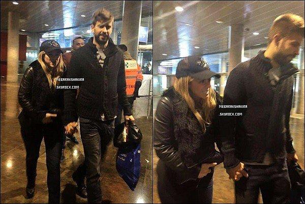 22 mars 2015 : Shakira & Gerard sortant du stade barcelonais le Camp Nou