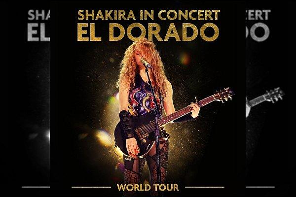 ▬ A l'occasion de la sortie du film de la tournée EL DORADO de Shakira, un album live sortira le 13 novembre prochain. Shakira a déjà dévoilé la version live de Chantaje♥