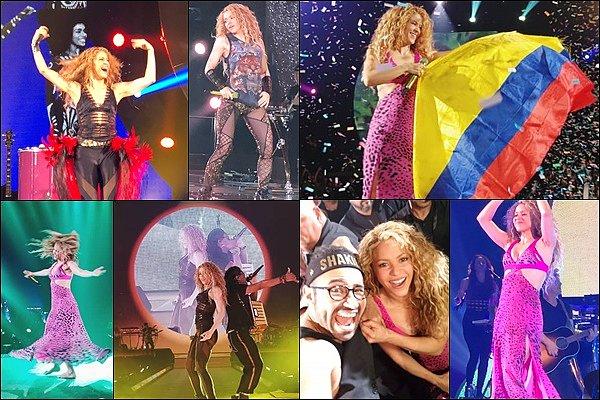 3 août 2018 : Shakira est de retour sur scène ! Cette fois-ci la belle enflamme Chicago aux USA Shakira semblait ravie de continuer sa tournée de l'autre de l'Atlantique, elle était rayonnante comme toujours !