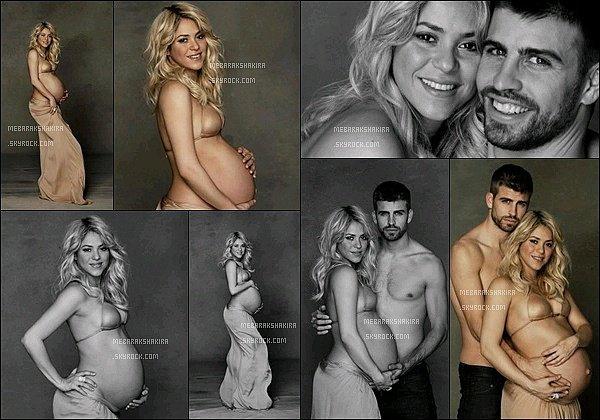 En janvier 2013 Shakira & Gérard ont réalisés un Photoshoot pour Unicef