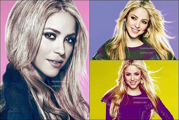 En 2009, Shakira a réalisé un photoshoot pour la promo de SNL, elle est très mignonne ! J'aime bien son maquillage pour ce shoot, l'effet coloré sur les photos rend bien. La colombienne est toujours aussi ravissante