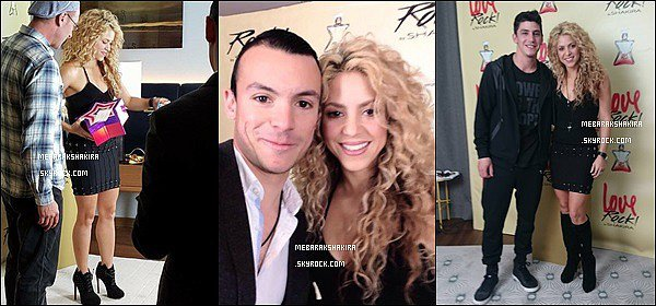 20 Octobre 2015 : Shakira a fait une conférence pour le lancement de son nouveau parfum LOVE ROCK ! S. était ravissante pour cette occasion. J'aime beaucoup sa petites robes avec les clous. De plus ses bottes sont top avec cette tenue.