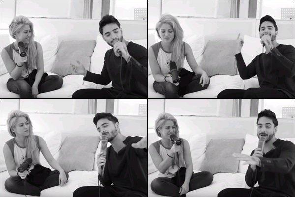 Une nouvelle vidéo de Shakira et Maluma chantant Trap dans le studio à Barcelone est sorti Les deux colombiens avaient l'air de passer un bon moment à chanter leur duo. Toujours au TOP ces deux là ! :)