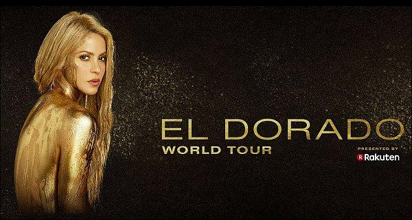 EL DORADO WORLD TOUR ▬commence bientôt ! Shakira commencera à Hambourg Je suis impatiente de voir ce que Shakira nous a concocté, S. a l'air très heureusede retourner sur scène après près de 7 ans *__*